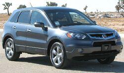 2007 Acura RDX -- NHTSA