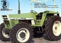 Agrifull Rodeo 95 Turbo MFWD