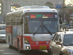 Busan Urban Bus Route No. 1007 - Hyundai Universe Space Elegance