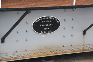 Cowans Sheldon turntable no.2784 IMG 8451