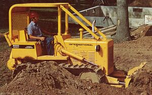 International 500E 1975