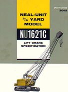 Neal-Unit NU1621C Crawlercrane