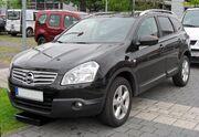 Nissan Qashqai+2 20090620 front