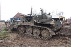Vickers Vigor bulldozer at AB WD 2013 - IMG 7839