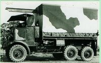 A 1930s Guy FBAX Armytruck 6x4
