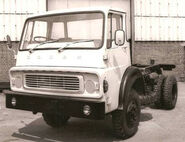 A 1970s AWD Dodge Comando 4WD Lorry