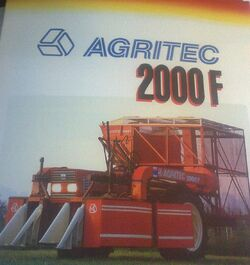 Agritec 2000F cotton picker brochure