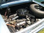 Chevrolet Corvair 164 Turbo engine