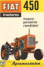 Fiat Concord 450 brochure