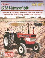 GM Universal Fastrac 640-2007