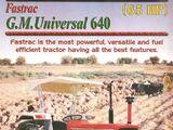 G.M. Universal Fastrac 640