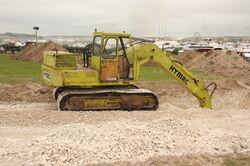 Hymac excavator at GDSF 08