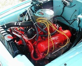 International V-266 engine