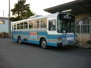 Kantetsu-kankou-bus,tamatukuri-station,inasiki-city,japan