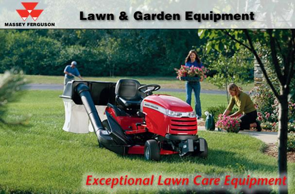 Massey Ferguson Garden Tractors | Tractor & Construction