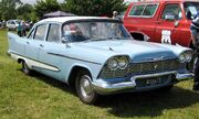 Plymouth Savoy sedan 5211 cc 1958