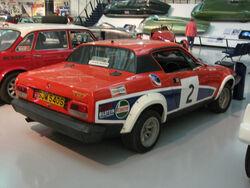 Tr7 v8 rally car