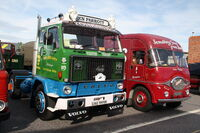 Volvo F88 (UAG999R) at Exelby services 2013 IMG 1965