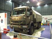 Brno, Autotec 2008, armádní Tatra