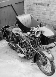 Clyno Combination Motorcycle circa 1920