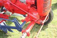 Farmall A sn FAA70474 - steering box and cultivator mounting - 427 XUC IMG 0107