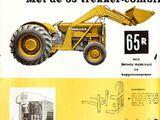 Massey Ferguson 65R backhoe