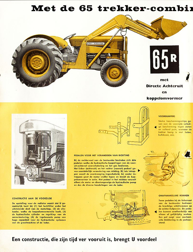 Massey Ferguson 65R backhoe | Tractor & Construction Plant