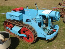 Ransomes MG tractor at Astwwood-DSC01281