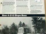 White 4-210 Slope Boss