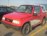 1989-1991 GMC Tracker