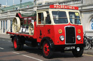 A 1940s Thornycroft Nippy Flatbed Petrol engined