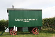 Bomford & Evershed living van - Oakhanger Steam Traction Co. at Preston Rally - IMG 3186