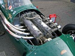 Connaught Type C Alta engine