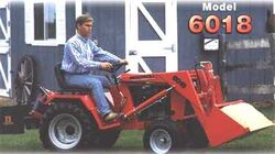 Ingersoll 6018 w loader - 1998
