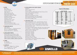 Zanello (CMZ) 4200 Series II New 260 4WD brochure pg2 - 2017