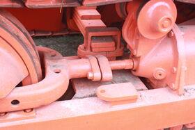 Allis-Chalmers HD19 track tension equaliser spring - IMG 2156