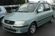 Hyundai Matrix Facelift (2005-2007) front