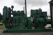 Lister Generating Set - 3-cylinder 20 KVA 3 phase on Leyland 648 DXL at Masham 09 - IMG 0185