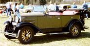 Whippet Touring 1929