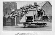 A 1930s Alen of Oxford Excavator