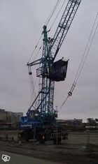 A 1990s Jones 971HLB Dock Harbour crane