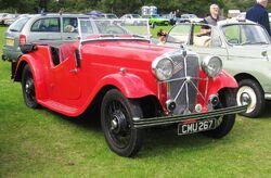 Morris Ten-Six spacial bodied cabriolet 1378cc August 1935