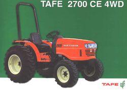 Tafe 2700 CE MFWD-2005