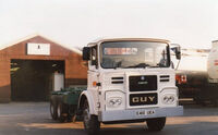 A 1980s GUY Big J6 Haulage Tractor