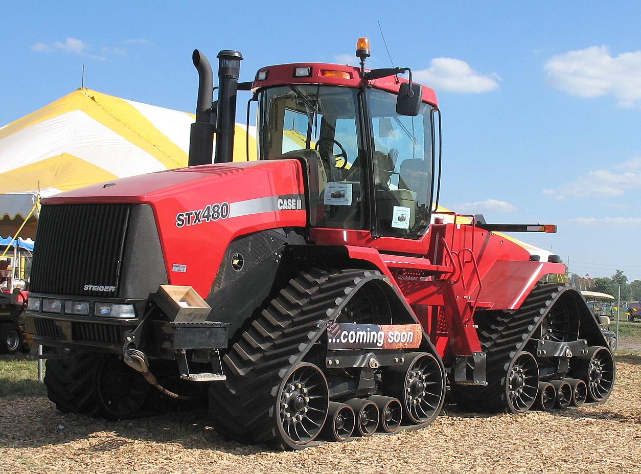 case ih steiger quadtrac stx480 tractor construction plant wiki