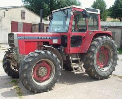 Ebro 6100 MFWD (red) - 1986 2