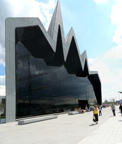 Riverside Museum rear view.JPG