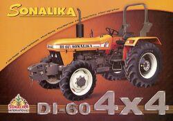 Sonalika DI-60 MFWD-2007