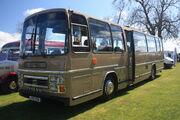 Volvo Coach (bus) reg HYR 176W at --Boroughbridge CV 09 - IMG 8916