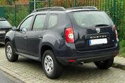 Dacia Duster 1.5 dCi rear 20100928